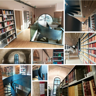 Mosaico foto nuova biblioteca Liviano